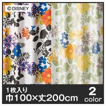 カーテン ディズニーファン必見スミノエ Disney 既製カーテン MICKEY/Profusion(プロフュージョン) 巾100×丈200cmM-1119-200/M-1120-200