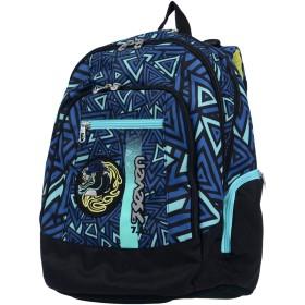 《送料無料》SEVEN ボーイズ 3-8 歳 バックパック&ヒップバッグ ダークブルー 紡績繊維