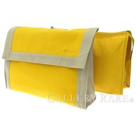 エルメス クラッチバッグ タピドセル イエロー×ベージュ コットンキャンバス セカンドバッグ ポーチ HERMES バッグ