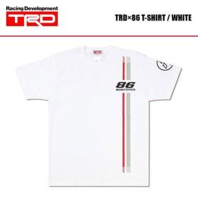 [TRD] TRD×86 Tシャツ 白 サイズLL