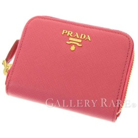 プラダ コインケース サフィアーノ メタル SAFFIANO METAL ラウンドファスナー 1MM268 PRADA 財布 小銭入れ