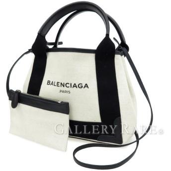 バレンシアガ トートバッグ ネイビー カバ XS 2wayショルダーバッグ ポーチ付 390346 BALENCIAGA バッグ カバス