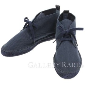 エルメス シューズ エスパドリーユ ハイカット スニーカー エスパドリーユ メンズサイズ44 HERMES 靴 チャッカーブーツ