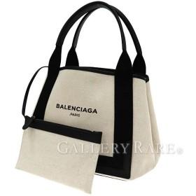 バレンシアガ トートバッグ ネイビー キャバス S 339933 BALENCIAGA バッグ スモールサイズ