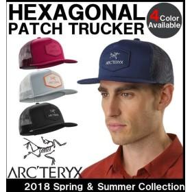 フラットビル キャップ  アークテリクス ARC'TERYX HEXAGONAL PATCH TRUCKER ヘクサゴナルパッチトラッカー キャップ 20924