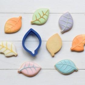 シンプル葉っぱ【5cm】クッキー型・クッキーカッター