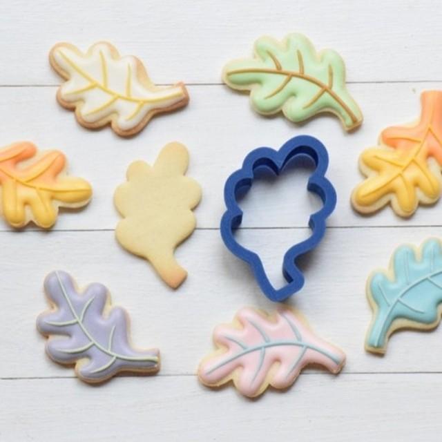 ヒッコリーの葉【5cm】クッキー型・クッキーカッター