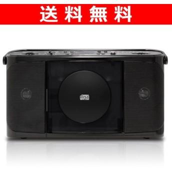 CDラジオ(AMラジオ/FMラジオ) YCD-T701(B) ブラック ホータブルラジオ ポータブルCDプレーヤー