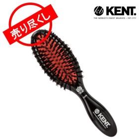 赤字売切り価格 ケント ブラシ Kent Brush 女性用 ゴムクッション スモール ヘアブラシ(硬め)携帯用 CSFS 豚毛