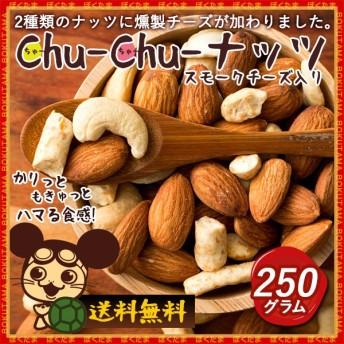ナッツ ミックスナッツ チーズ Chu-Chu-ナッツ 250g チーズ入り チューチュー ミックスナッツ [アーモンド カシューナッツ チーズ お手軽 サイズ ]