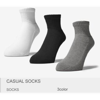 【メール便可】靴下 カジュアル ソックス メンズ レディース スポーツ 靴下 ポイント消化