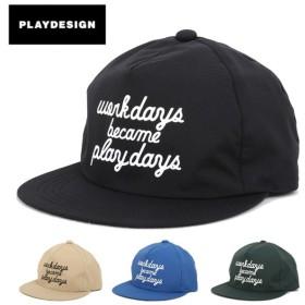 PLAYDESIGN プレイデザイン SUPER PLAY CAP(P01) P01-15SW17C01WP 【キャップ/防水透湿素材/山登り/刺繍】