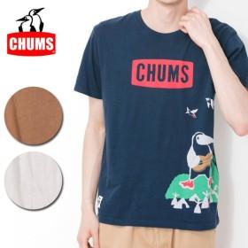 チャムス chums Tシャツ Acoustic Booby T-Shirt アコースティックブービーTシャツ CH01-1358 【服】【t-cnr】メンズ【メール便・代引き不可】
