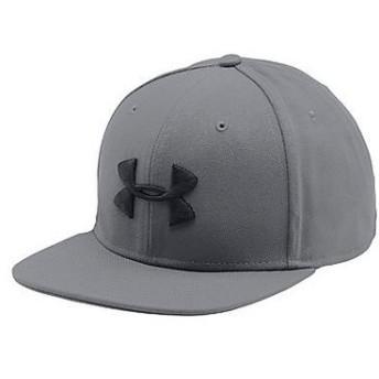 (セール)UNDER ARMOUR(アンダーアーマー)スポーツアクセサリー 帽子 18S UA HUDDLE SNAPBACK サイズ ONESIZE 57-60cm 大きめ 1293407 0BG メンズ ONES...