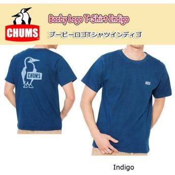 チャムス chums Tシャツ メンズ Booby Logo T-Shirt Indigo ブービーロゴTシャツインディゴ CH01-1199 【服】日本正規品【メール便・代引不可】
