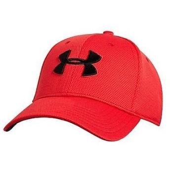 (セール)UNDER ARMOUR(アンダーアーマー)スポーツアクセサリー 帽子 UA BLITZING CAP 1254123 メンズ LGXL RED/RED/BLACK