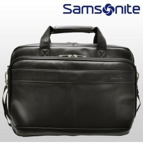 48時間ポイントキャンペーン サムソナイト Samsonite バッグ ビジネス ブリーフケース メンズ LEATHER BUSSINESS CASES 48073