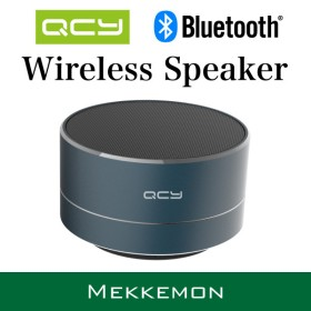 QCY Bluetoothミニポータブルスピーカー FMラジオ AUX microSD ワイヤレス