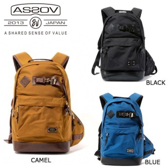 AS2OV アッソブ EXCLUSIVE BALLISTIC NYLON DAY PACK 061302-15