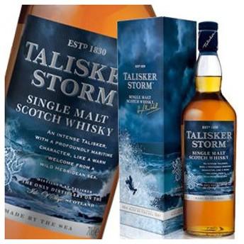 ウイスキー タリスカーストーム 45.8度 700ml 箱付_あすつく対応 シングルモルト 洋酒 whisky