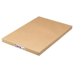(まとめ) TANOSEE 白画用紙 四つ切 業務用パック 1パック(100枚) 〔×2セット〕