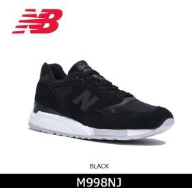 ニューバランス new balance スニーカー M998NJ BLACK  メンズ レディース 日本正規品  【靴】