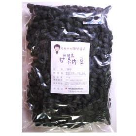 豆力 国内産 丹波黒甘納豆 1kg  【業務用、国産、お菓子、黒大豆、黒豆、絞り】