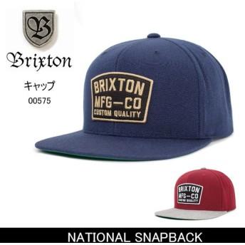 ブリクストン BRIXTON NATIONAL SNAPBACK /00575 【帽子】 キャップ 帽子 ストリート アウトドア 秋冬物