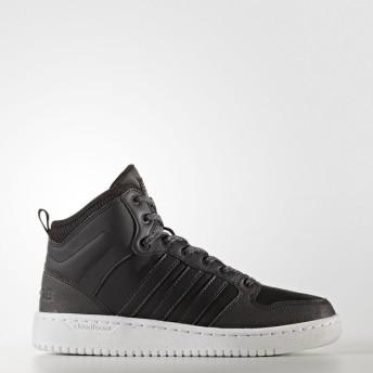 (セール)adidas(アディダス)シューズ カジュアル CLOUDFOAM NEOHOOPS MID WTR W CFW24 BC0117 レディース コアブラック/コアブラック/ユーティリティ...