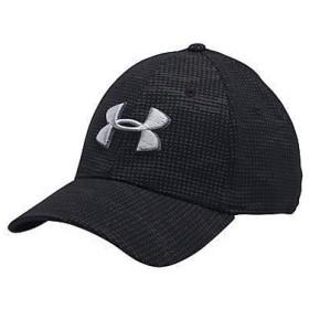 (セール)UNDER ARMOUR(アンダーアーマー)スポーツアクセサリー 帽子 UA PRINT BLITZING CAP 1273197 メンズ LGXL BLACK/RHINO GRAY/OVERCAST GRAY