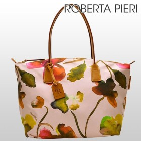 キャッシュレスで全品6%還元 ロベルタピエリ バッグ 新作 ROBERTA PIERI トート ショルダー FLOWER RPRBFLLTRO flowertote