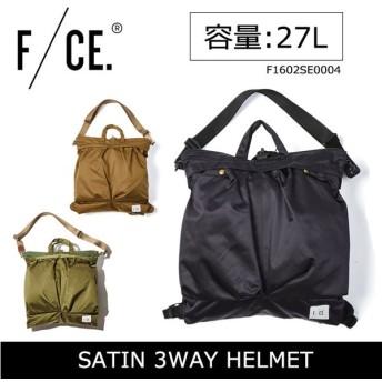 F/CE エフシーイー SATIN HELMET FICOUTURE バックパック 3WAY F1602SE0004