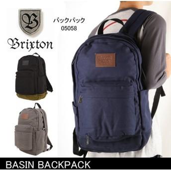 ブリクストン BRIXTON BASIN BACKPACK /05058 【カバン】 バックパック リュック 通学 通勤 デイリーユース