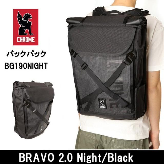 CHROME/クローム バックパック BRAVO 2.0 Night/Black BG190NITE