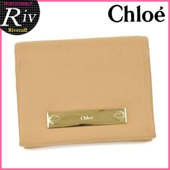 [厳選]クロエ Chloe 名刺入れ カードケース 3p0746