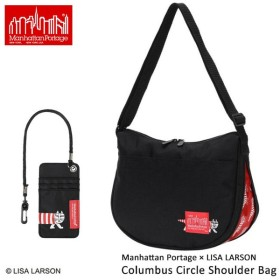 正規品 限定 マンハッタンポーテージ ManhattanPortage ショルダーバッグ ManhattanPortage×LISA LARSON Columbus Circle ShoulderBag S