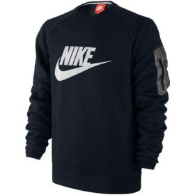 NIKE(ナイキ)メンズスポーツウェア ジャケット ウォームアップ ウェア ハイブリッドクルーロゴ 614416 010 メンズ BLACK