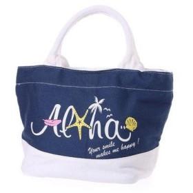 【Kahiko】シェルトートバッグ ネイビー