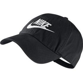 (セール)NIKE(ナイキ)スポーツアクセサリー 帽子 ナイキ フューチュラ ウォッシュド H86 - レッド 626305-012 MISC ブラック/ブラック/(ホワイト)