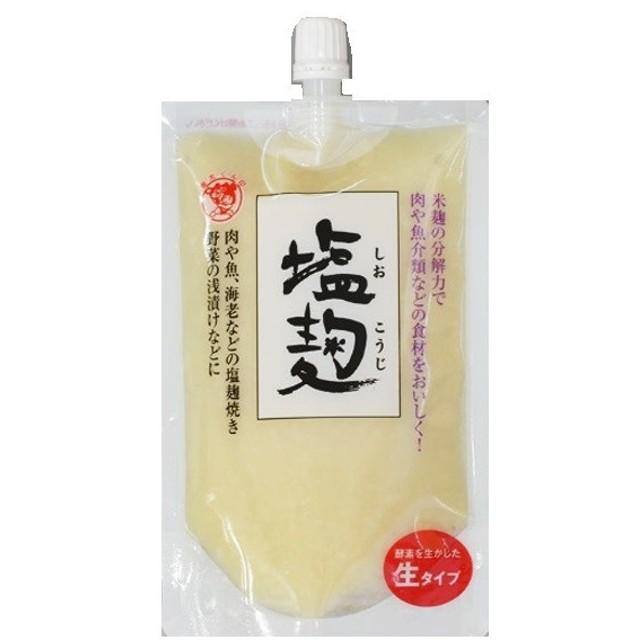 豆力 こだわりの塩麹 200g 【しおこうじ スパウト 伊豆フェルメンテ 発酵食品】