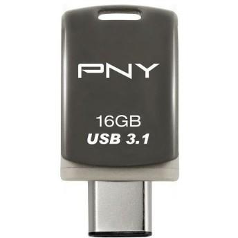 グリーンハウス Type-C/A USB3.0(Gen1)メモリー 16GB UFDPUCD20-16G