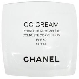 定形外送料無料 シャネル CHANEL CC クリーム 50 10 ベージュ(ミニサイズ)