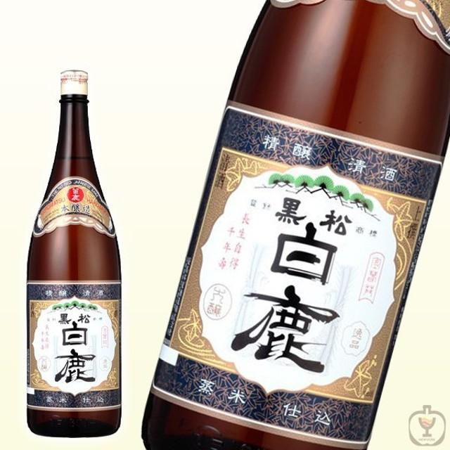お酒  日本酒 白鹿 上撰 1800ml 一升瓶 (1800ml/1本)