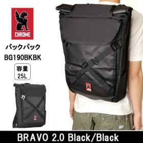 CHROME/クローム バックパック BRAVO 2.0 Black/Black BG190BKBK