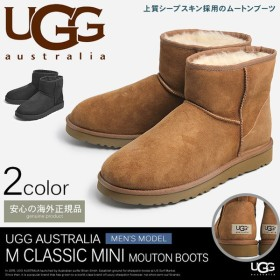 アグ UGG ムートンブーツ メンズ アグブーツ クラシック ミニ 本革 シューズ 靴