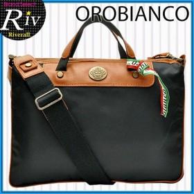 オロビアンコ OROBIANCO バッグ バック ブリーフケース メンズ OROBIANCO ショルダーバッグ ブラック pridoubdolnyl