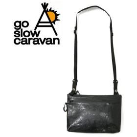 go slow caravan ゴースローキャラバン ターポリン防水サコッシュ 387004