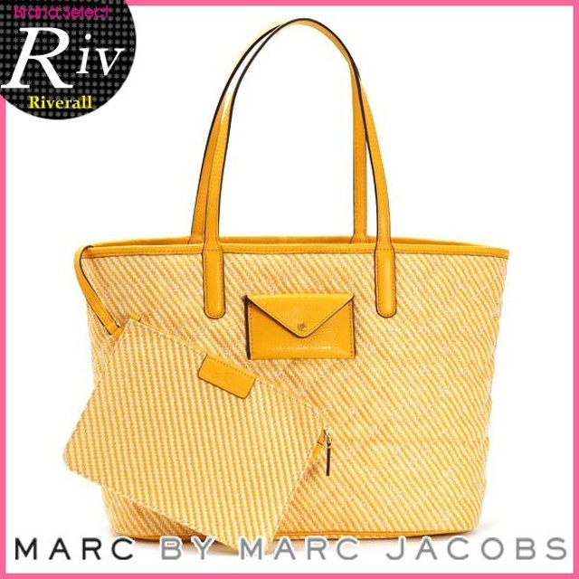 MARC BY MARC JACOBS マークバイマークジェイコブス TOTE 48 ポーチ付き M0006080