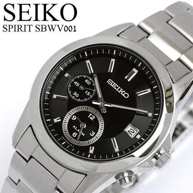 533716ec00 エントリーでP10倍 SEIKO SPIRIT セイコー スピリット アラーム 腕時計 SBWV001