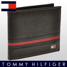 ポイント10% トミーヒルフィガー TOMMY HILFIGER 財布 二つ折り財布 メンズ 96-5000